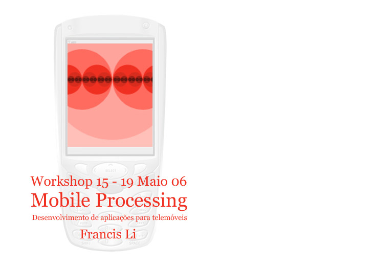 Mobile Processing workshop com Francis Li (US) Maio 2006